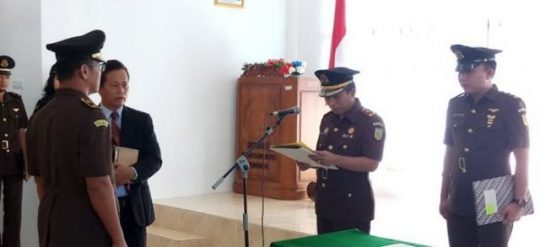 Sukma Frando Jabat Kasi Pidana Umum Kejari Lampung Utara