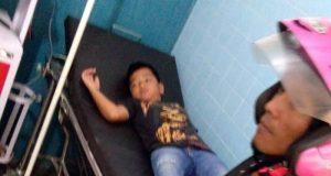 Raifan Akbar (9th) kelas 3 SD di rawat di RSIA Restu Bunda