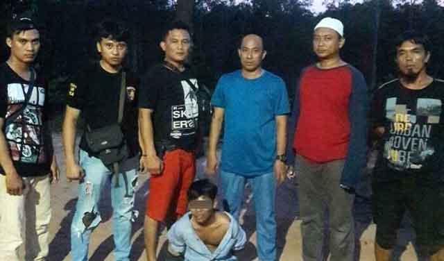 Polisi Ringkus Begal di Areal Kebun Tebu PT GPM