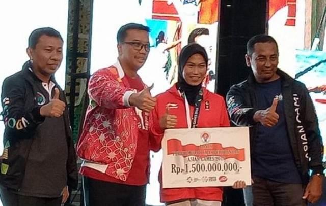 Asian Games 2018, Defia Rosmaniar Terima Bonus Rp1,5 Miliar