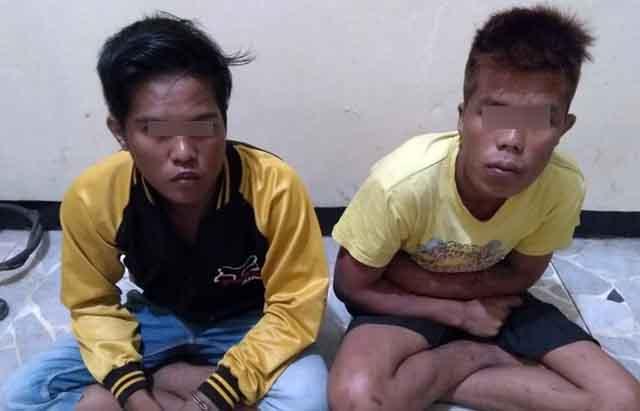 Membegal Pelajar SMP, Dua Buruh Tebang Tebu PT GPM Dibekuk Polisi