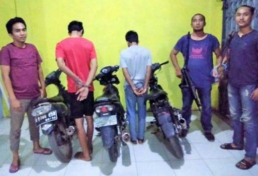 Di Way Kanan, Dua Tersangka Begal Dibekuk Polisi saat Pesta Miras