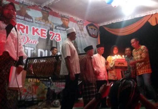 Tiup lilin dan pemotongan kue HUT RI ke-73 dan HUT Dusun Sidosari ke-58 dengan menghadirkan para mantan Kepala Dusun (Kadus) terdahulu yakni Mbah Sanwiyadi yang pernah menjabat dari tahun 1960-1980, Sandiyo (Alm) yang diwakilkan anaknya pernah menjabat dari tahun 1980-2005, Dadi menjabat dari 2005-2008, Sarmo menjabat dari tahun 2008-2011 dan M Rohim menjabat dari 2011-2017.