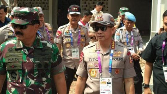 TNI Akan Tembak Drone Liar di Pembukaan Asian Games