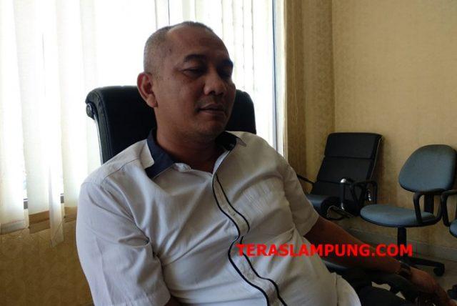 Ketua Komisi I DPRD Kota Bandarlampung , Nu'man Abdi (Teraslampung.com/Dandy Ibrahim)