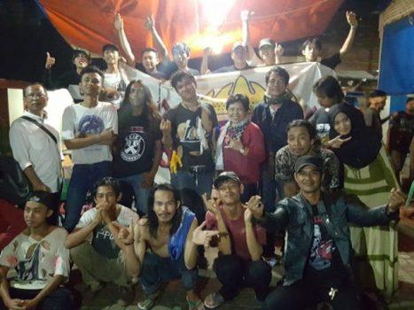 Seknas Jokowi Apresiasi Komunitas Rock Gubuk Serok