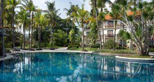 Kolam renang Hotel Sheraton Lampung di Jl. Robert Wolter Monginsidi Bandarlampung (Foto: dok Agoda)