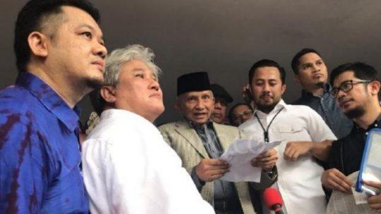 Amien Rais Ungkit Dua Kejanggalan Pemeriksaannya di Polda Metro Jaya