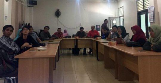 PKBI Lampung Ajak Para Jurnalis Pahami Isu HKSR