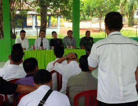 Gandeng PWI, Kejari Lampura Lakukan Pelayanan Hukum di Kotabumi Selatan