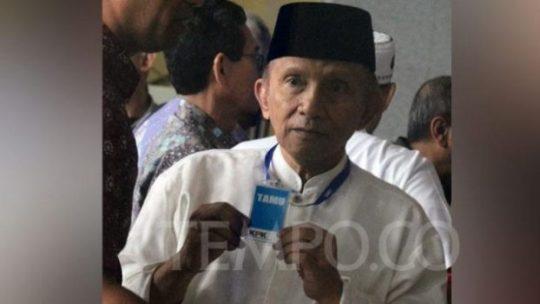 Desak Muhammadiyah Tentukan Capres, Amien Rais Dikritik IMM