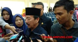 Herman HN menjelaskan soal kenaikan honor TKS Pemkot Bandarlampung.