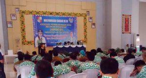 Musyawarah Cabang ke-III Apdesi Lampung Utara periode 2019 - 2024.