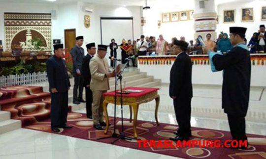 PAW, Sukri Gantikan Erwansyah Sebagai Anggota DPRD Bandarlampung