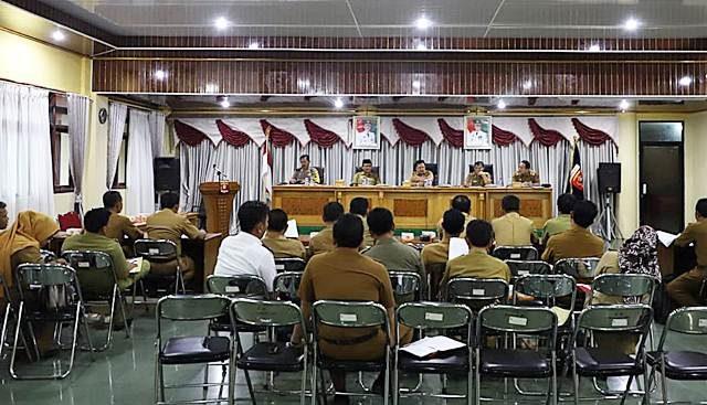 Rapat persiapan MTQ Lampung Barat 2018.