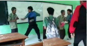 Video viral pengeroyokan sejumlah siswa di sebuah sekolah di Kendal Jawa Tengah