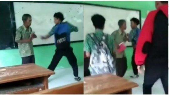 """Viral Guru """"Dikeroyok"""" Siswanya, Pihak Sekolah Menyebutnya Itu Bercanda"""