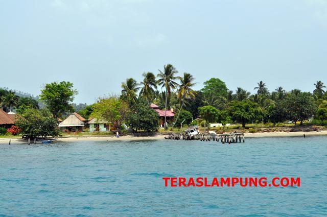 Desa Pulau Sebesi (Foto: Teraslampung|Oyos Saroso HN)