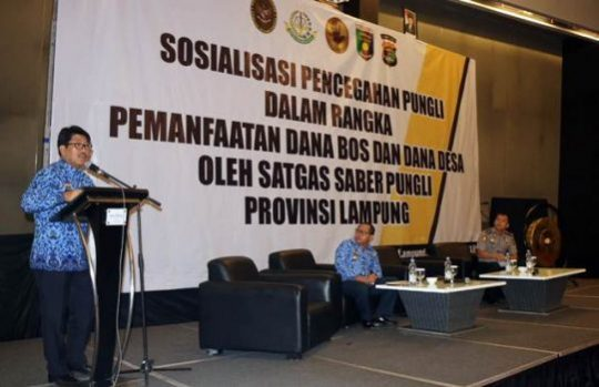 Pj Sekdaprov Lampung Ingatkan Tujuh Bidang Rawan Pungutan Liar