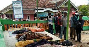Korban meninggal dunia di Desa Way Muli, Kecamatan Rajabasa, Lampung Selatan.