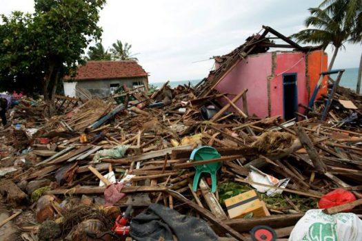 Desa Kunjir Lampung Selatan Setelah Dihantam Tsunami Selat Sunda