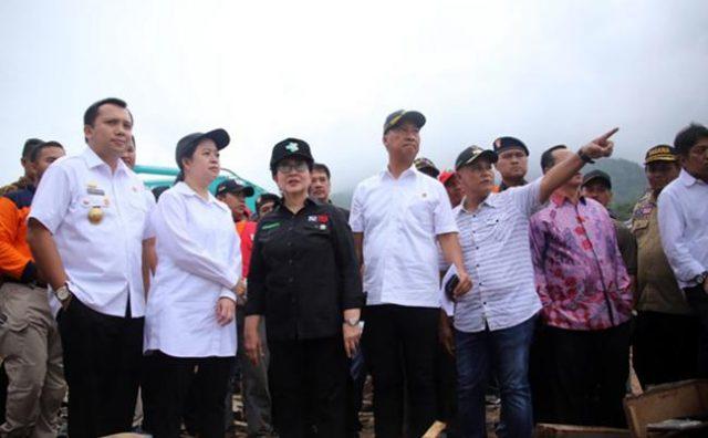 Kunjungan Gubernur Lampung dan Menteri Kabinet Kerja ke Desa Way Muli,Selasa, 25 Desember 2018.