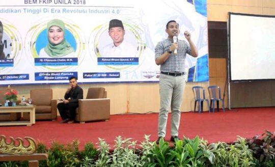 Rizaldi Adrian Ajak Pemkot dan Masyarakat Buktikan Bandarlampung Bersih