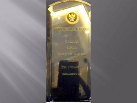 Provinsi Lampung Raih Juara II Nasional Pencegahan Terorisme
