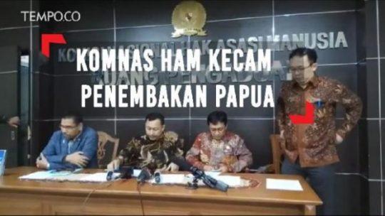 DPR Papua Desak Komnas HAM Investigasi Penembakan di Nduga