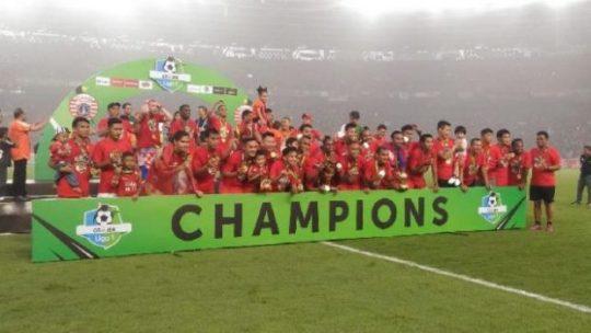 Tekuk Mitra Kukar 2-1, Persija Jakarta Juara Liga 1