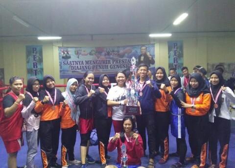 Kejuaraan Tinju Antar-Pelajar Lampung, SMKN 8 Bandarlampung Borong Juara