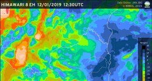 Cuaca Lampung 12 Januari 2019
