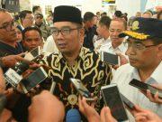 """Gubernur Jawa Barat Ridwan Kamil, pada acara """"Ngapung Bareng Ti Kertajati,"""" di Bandara Internasional Jawa Barat (BIJB) Kertajati, Majalengka, Rabu, 9 Januari 2019.(dok Pemprov Jabar)"""