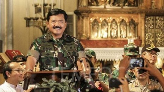 Ancaman Terorisme, Panglima TNI Minta Prajurit Siap Perang Kota