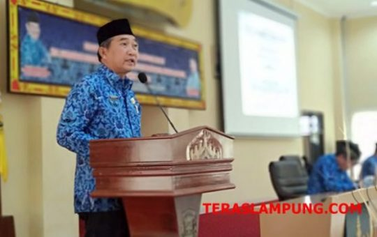 Sekda Badri Tamam Buka Musyawarah Pengurus Korpri Bandarlampung