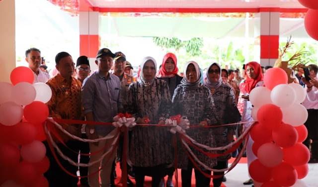 Peresmian Puskesmas Rawat Inap Gedung Surian, Lampung Barat,