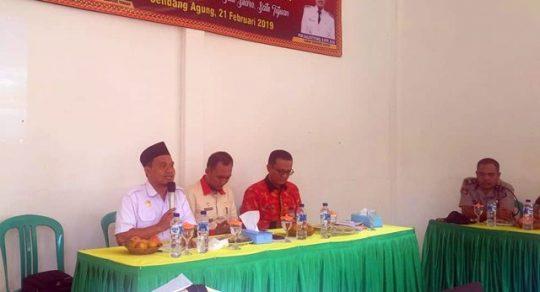 Ahmad Mufti Salim akan Perjuangkan Terwujudnya Puskesmas Rawat Inap di Sendang Agung
