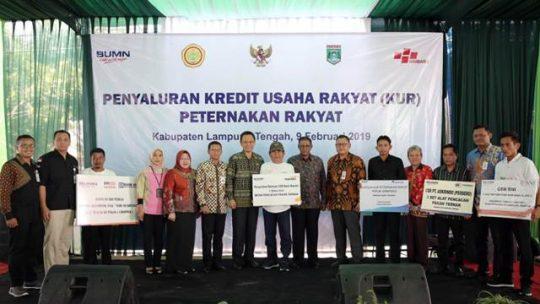 KUR Peternakan, Gubernur Ridho Optimistis Lampung Jadi Lumbung Pangan Dunia