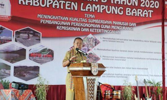 Musrenbang Lampung Barat, Wagub Minta Prioritaskan Kebutuhan Masyarakat