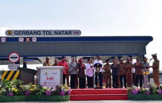 Jokowi Targetkan Tol Lampung-Aceh Kelar pada 2024