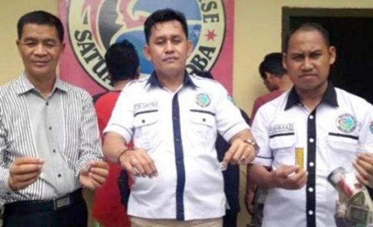 Pesta Sabu di Pringsewu, Oknum PNS Provinsi Lampung Diciduk Polres Tanggamus