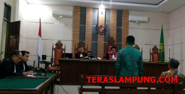 Korupsi Dinas PUPR Lamsel, Agus BN Divonis Empat Tahun Penjara