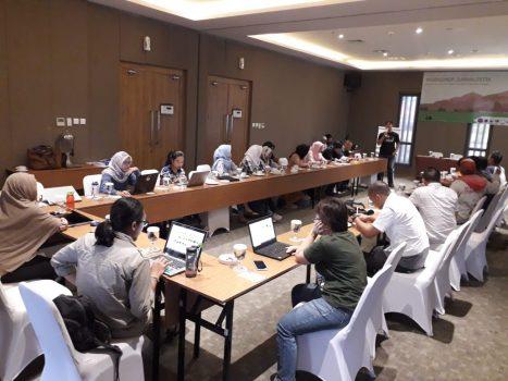 AJI Bandarlampung Tingkatkan Kompetensi Jurnalis Liput Isu Lingkungan