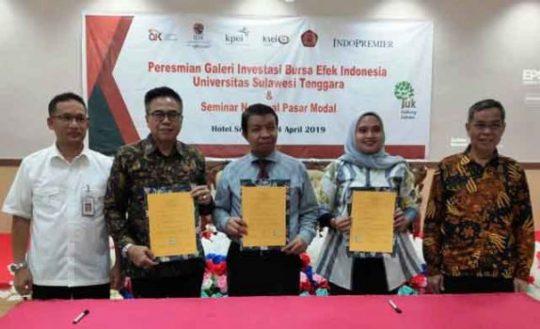 IndoPremier Dorong Mahasiswa Sulawesi Tenggara Nabung Saham