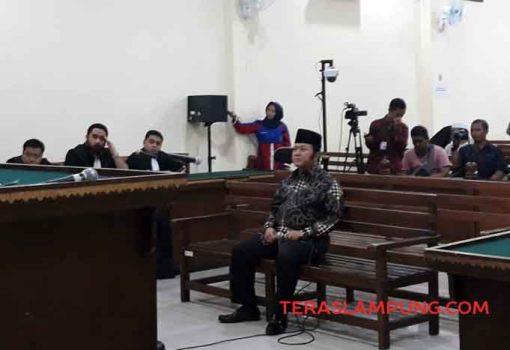 Bupati Lampung Selatan Nonaktif Zainudin Hasan Divonis 12 Tahun Penjara