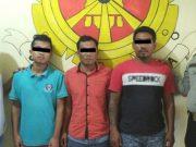 Pelaku begal dan dua orang pelaku penadah barang hasil curian diamankan Polsek Seputih Mataram, Lampung Tengah.