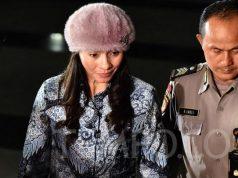 Bupati Kepulauan Talaud Sri Wahyumi Maria Manalip bersiap menjalani pemeriksaan setelah terjaring OTT, di gedung KPK, Jakarta, Selasa, 30 April 2019. TEMPO/Imam Sukamto
