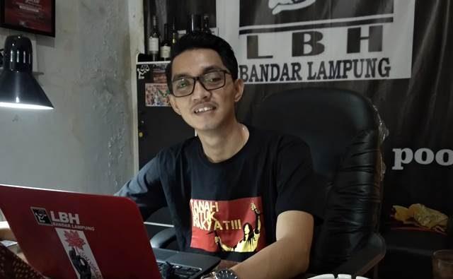 Direktur LBH Bandarlampung,, Chandra Muliawan