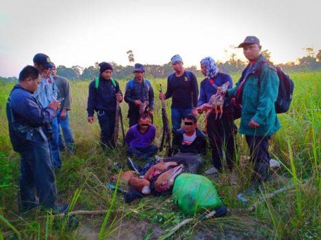 Tim Patroli Taman Nasional Way Kambas Tangkap Dua Pemburu Liar