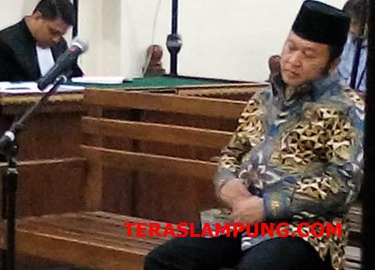 Kasasi Ditolak, Mantan Bupati Lamsel Zainudin Hasan Tetap Dipenjara 12 Tahun